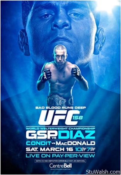 UFC 158 - GSP vs Diaz