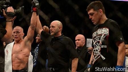 UFC158 St-Pierre v Diaz Result