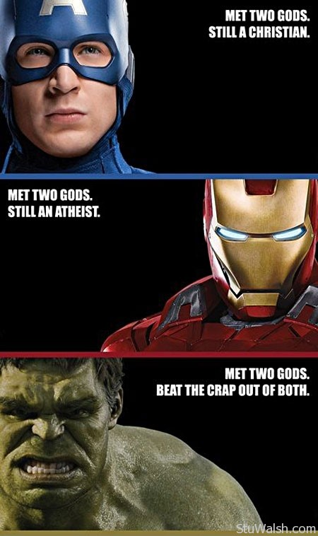 The Avengers Funny Picture
