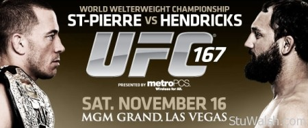 UFC 167 St-Pierre vs Hendricks