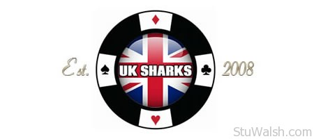 UK Sharks Poker Logo 2014