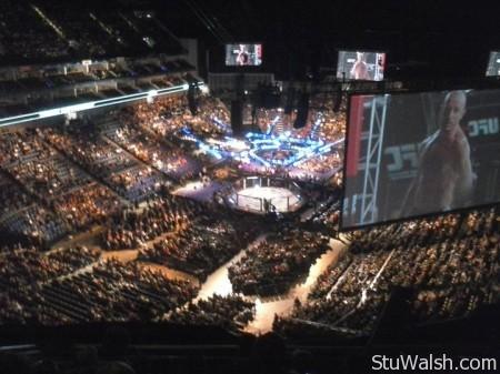 UFC London Seats